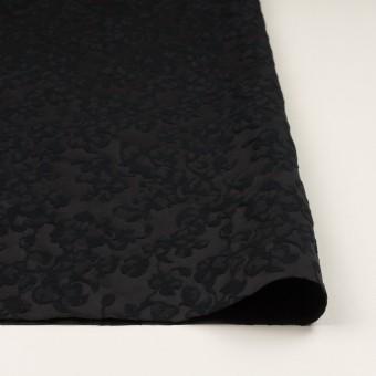 コットン&ポリエステル×フラワー(ブラック)×ジャガード サムネイル3