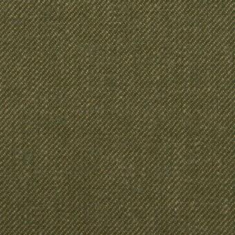 リネン&コットン×無地(カーキグリーン)×サージ_全2色 サムネイル1