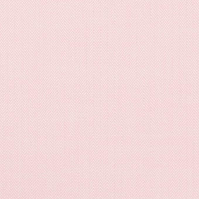 コットン×無地(ペールピンク)×ヘリンボーン イメージ1