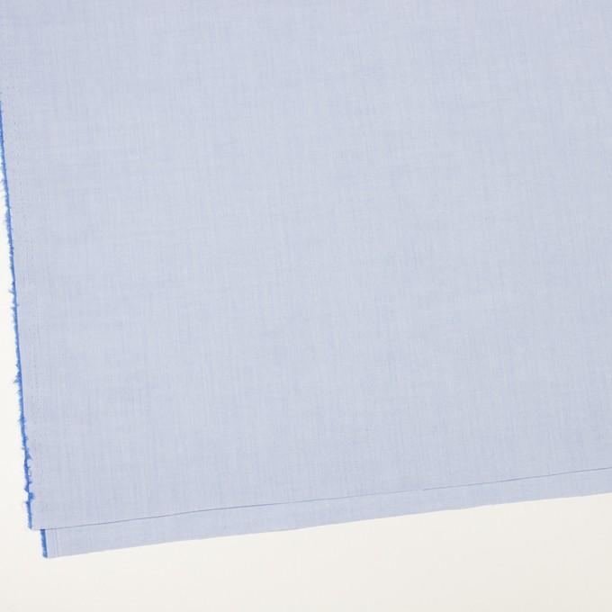 コットン×無地(ファウンテンブルー)×シャンブレー・ローン イメージ2