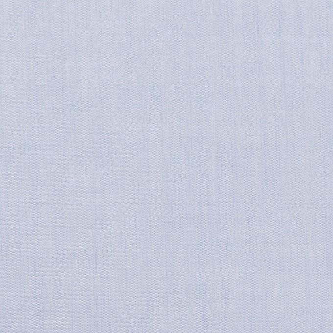 コットン×無地(ファウンテンブルー)×シャンブレー・ローン イメージ1