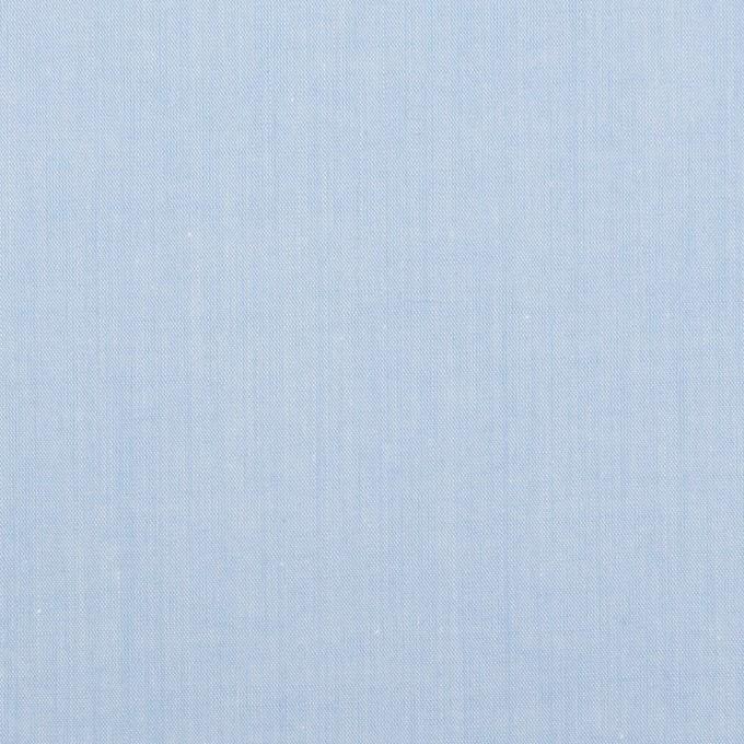 コットン×無地(サックス)×シャンブレー・ローン イメージ1