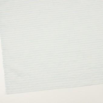 コットン×ボーダー(サックス)×ボイルワッシャー サムネイル2