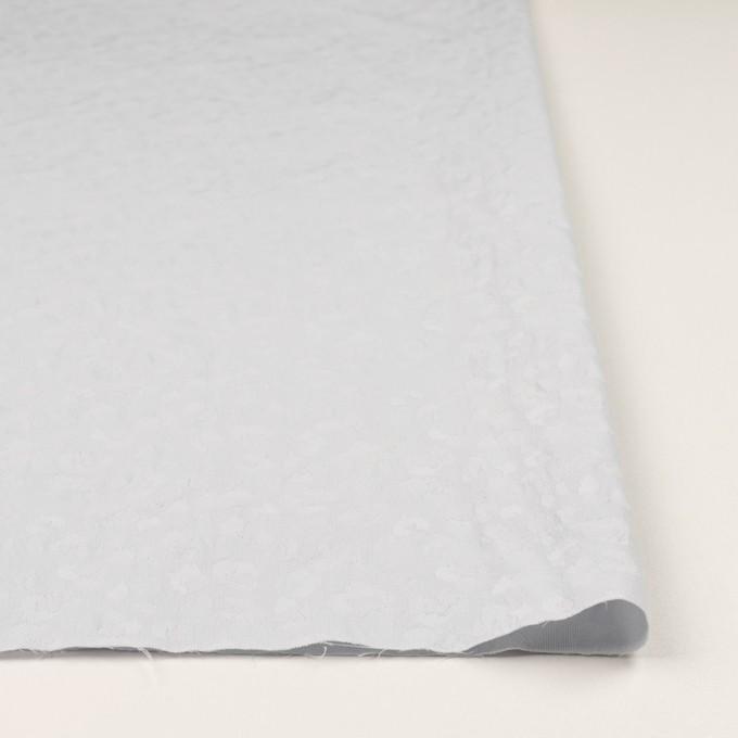 ポリエステル&コットン混×レオパード(ウィステリアミスト)×ジャガード・ストレッチ イメージ3