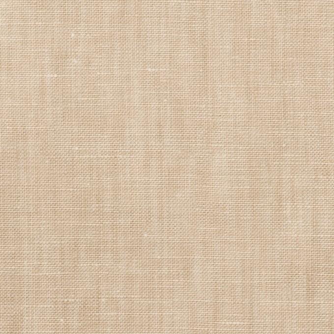 リネン×無地(ベージュ)×薄キャンバス_全2色 イメージ1