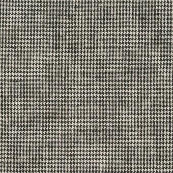 リネン&コットン×チェック(キナリ&ブラック)×千鳥格子 サムネイル1