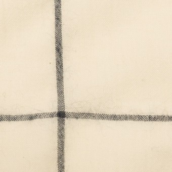 コットン×チェック(キナリ&ダークネイビー)×ガーゼ サムネイル1