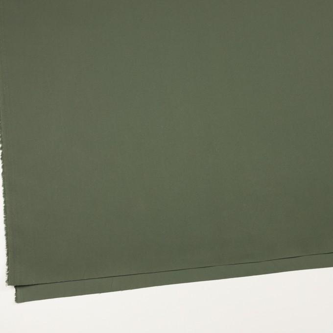コットン×無地(カーキグリーン)×サージ_全4色 イメージ2