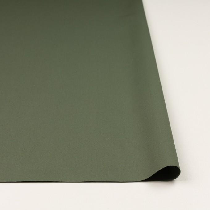 コットン×無地(カーキグリーン)×サージ_全4色 イメージ3