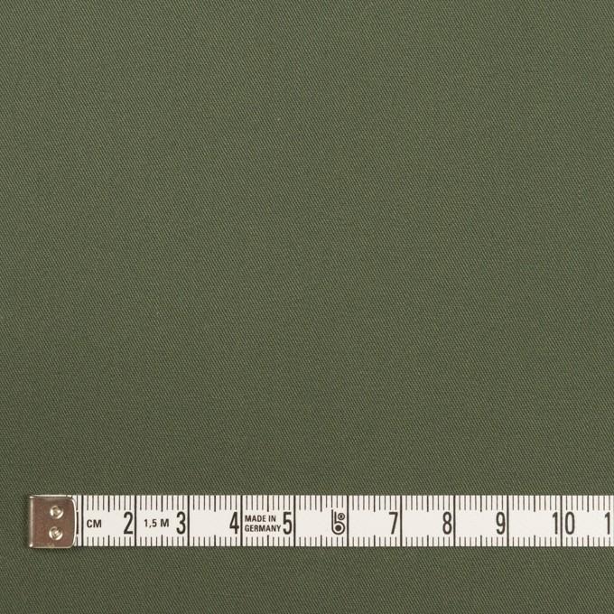 コットン×無地(カーキグリーン)×サージ_全4色 イメージ4