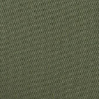 コットン×無地(カーキグリーン)×サージ_全4色