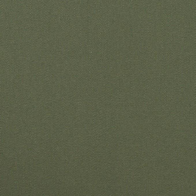 コットン×無地(カーキグリーン)×サージ_全4色 イメージ1