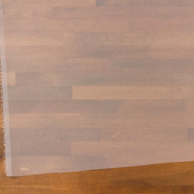 ポリエステル×無地(ホワイト)×オーガンジー_全4色 イメージ2