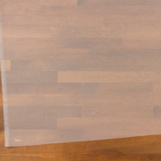 ポリエステル×無地(オフホワイト)×オーガンジー_全4色 イメージ2