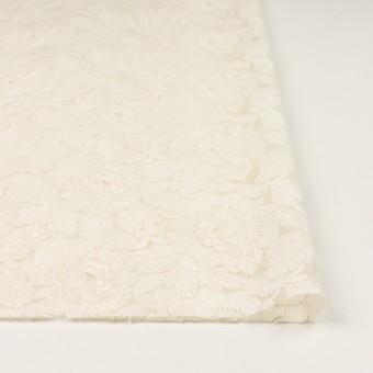 ナイロン×フラワー(キナリ)×オーガンジー刺繍_全2色 サムネイル3