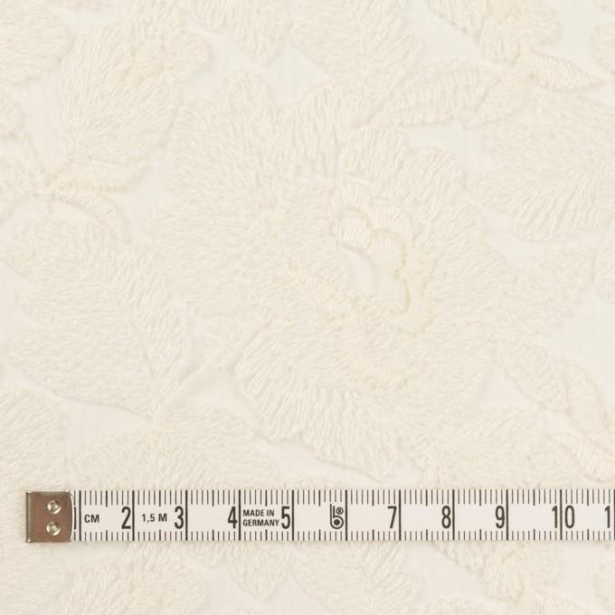 ナイロン×フラワー(キナリ)×オーガンジー刺繍_全2色 イメージ4