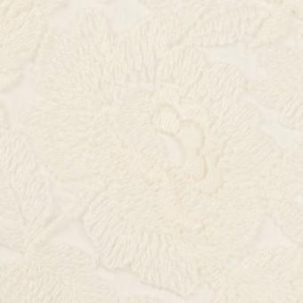 ナイロン×フラワー(キナリ)×オーガンジー刺繍_全2色 サムネイル1