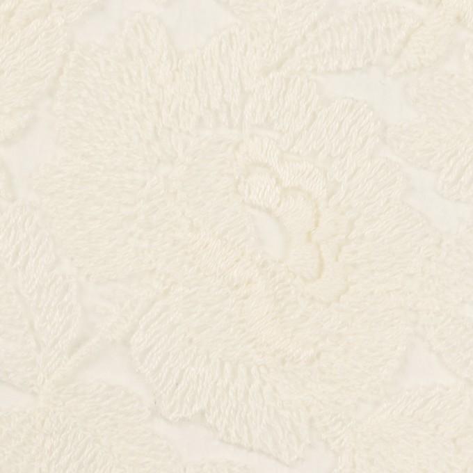 ナイロン×フラワー(キナリ)×オーガンジー刺繍_全2色 イメージ1