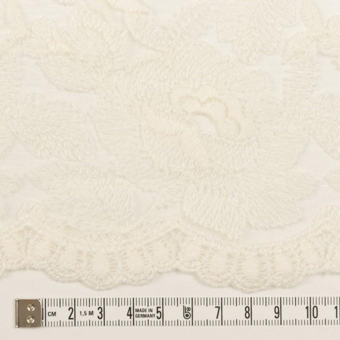 ナイロン×フラワー(キナリ)×オーガンジー刺繍_全2色 イメージ6