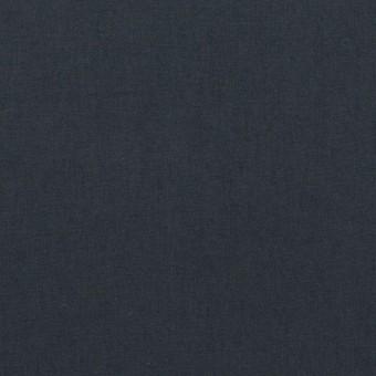 コットン×無地(アッシュネイビー)×高密ローン_イタリア製 サムネイル1