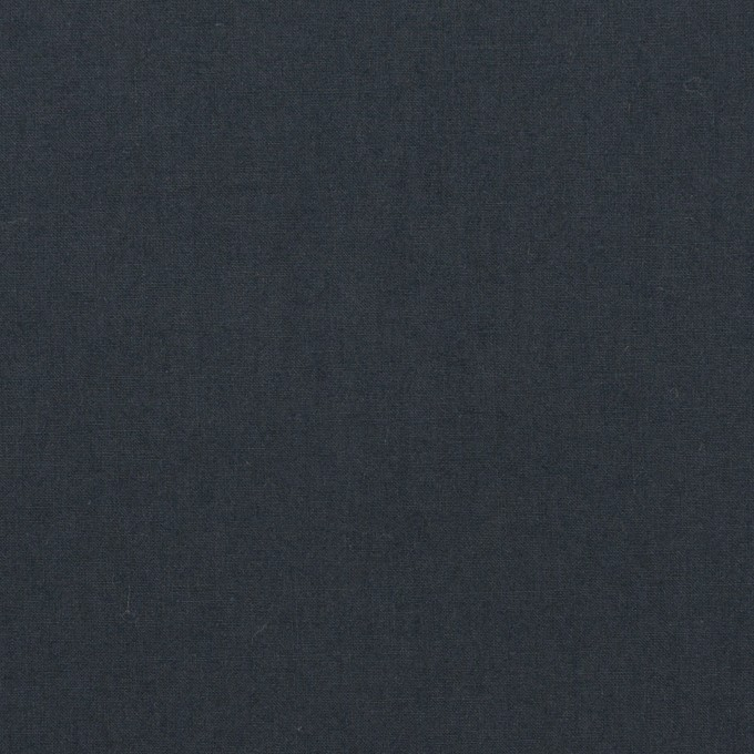 コットン×無地(アッシュネイビー)×高密ローン_イタリア製 イメージ1