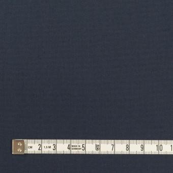 コットン&ポリアミド×無地(ミッドナイトブルー)×高密ブロード_イタリア製 サムネイル4