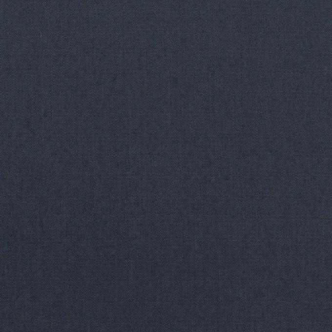 コットン&ポリアミド×無地(ミッドナイトブルー)×高密ブロード_イタリア製 イメージ1