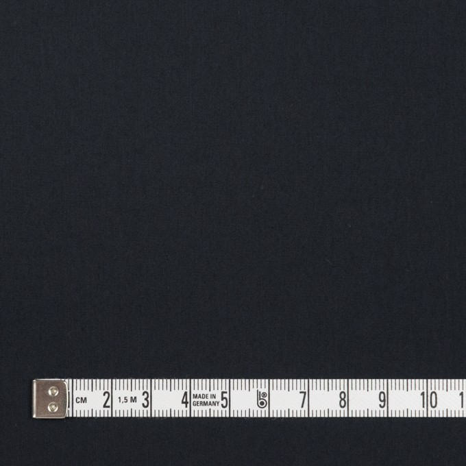 コットン&ナイロン×無地(ダークネイビー)×高密ブロード イメージ4