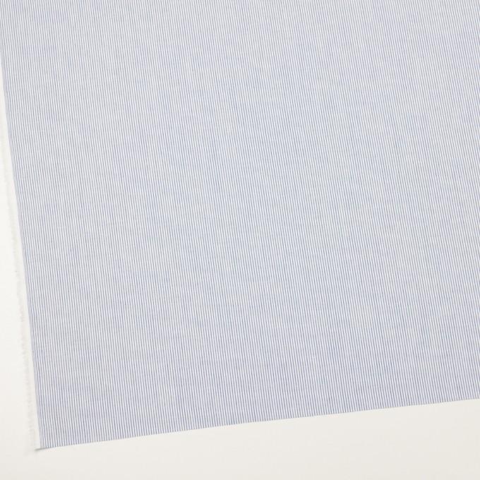 コットン&リネン×ストライプ(ブルー)×ブロード イメージ2