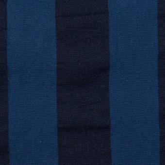 コットン×ストライプ(プルシアンブルー&ダークネイビー)×ポプリン&サッカー_全4色 サムネイル1