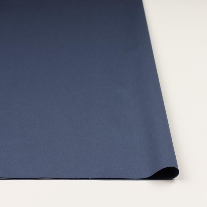 コットン&リネン混×無地(アッシュブルー)×サテンストレッチ_全4色 イメージ3