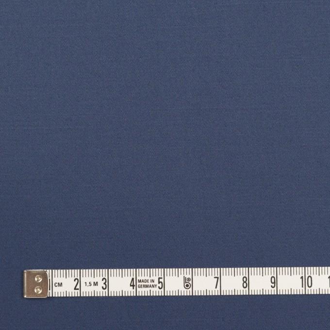 コットン&リネン混×無地(アッシュブルー)×サテンストレッチ_全4色 イメージ4