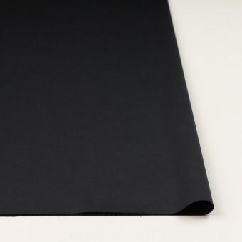 コットン&リネン混×無地(ブラック)×サテンストレッチ_全4色 サムネイル3