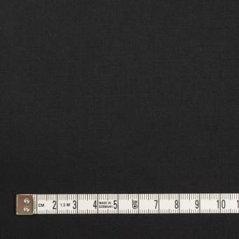 コットン&リネン混×無地(ブラック)×サテンストレッチ_全4色 サムネイル4