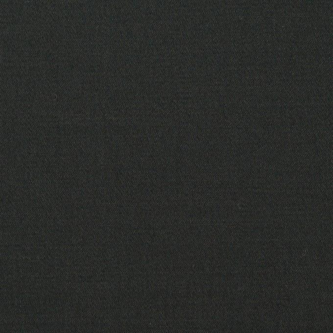 コットン&リネン混×無地(チャコールブラック)×サテンストレッチ_全4色 イメージ1