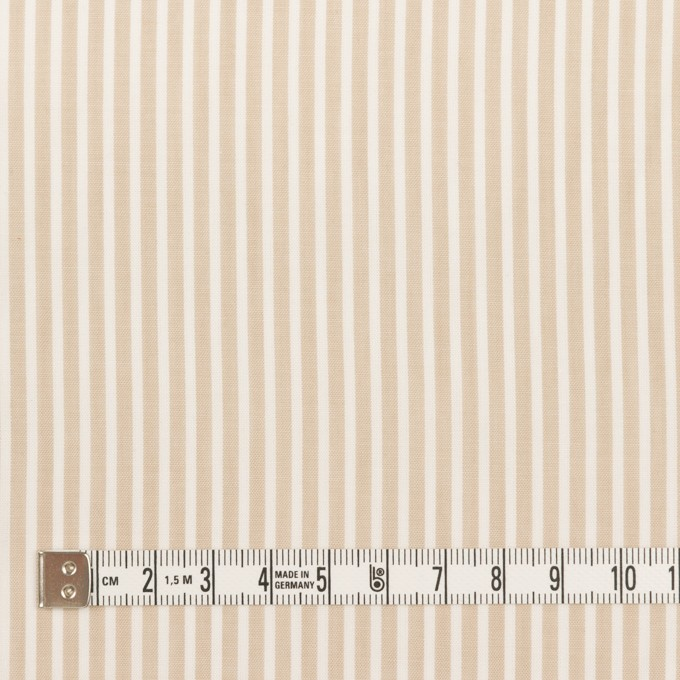 コットン×ストライプ(ベージュ)×ローン_全2色 イメージ4