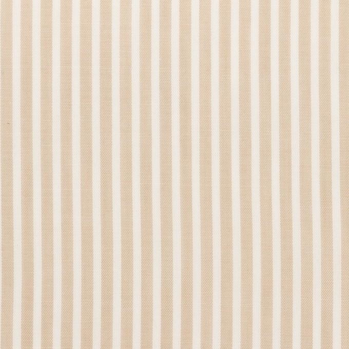 コットン×ストライプ(ベージュ)×ローン_全2色 イメージ1