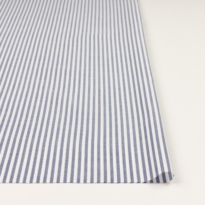 コットン×ストライプ(ブルー)×ローン イメージ3