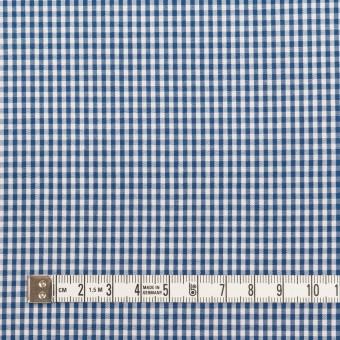 コットン×チェック(アッシュブルー)×ブロード_全2色 サムネイル4