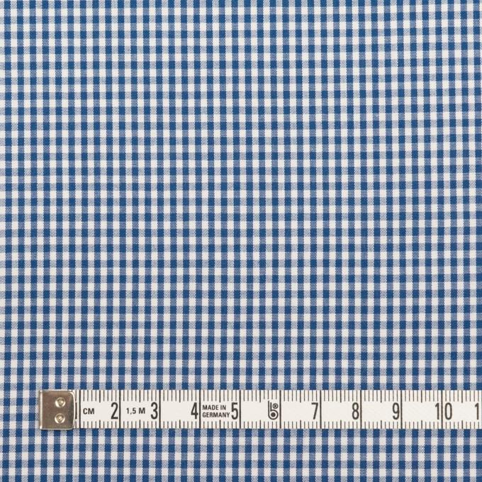 コットン×チェック(アッシュブルー)×ブロード_全2色 イメージ4