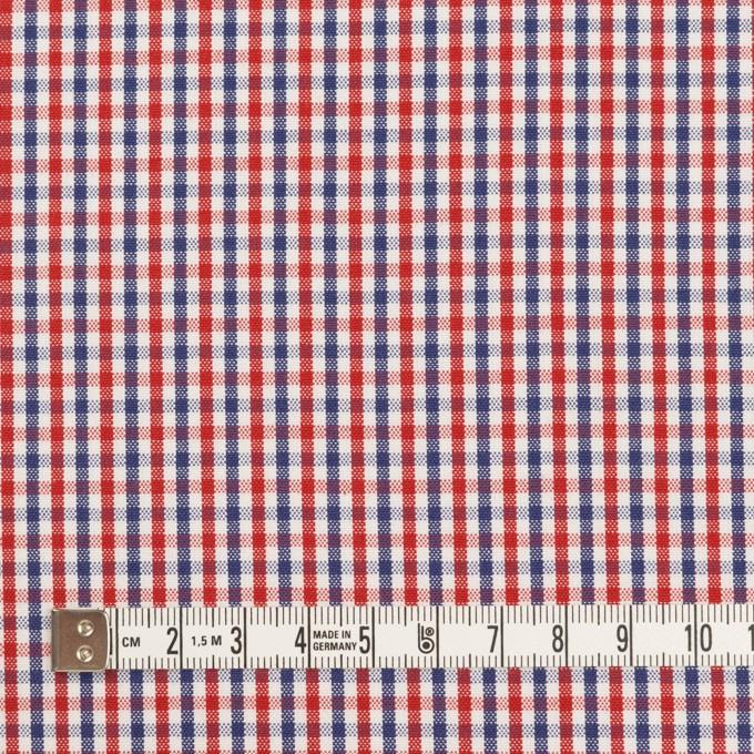 コットン×チェック(レッド&ネイビー)×オックスフォード_全3色 イメージ4