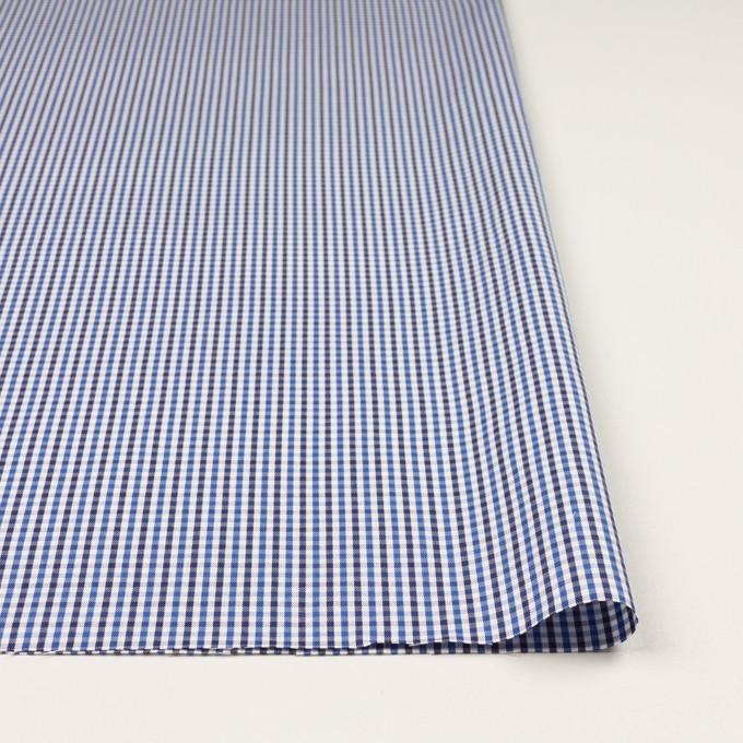 コットン×チェック(ブルー&ネイビー)×オックスフォード_全3色 イメージ3