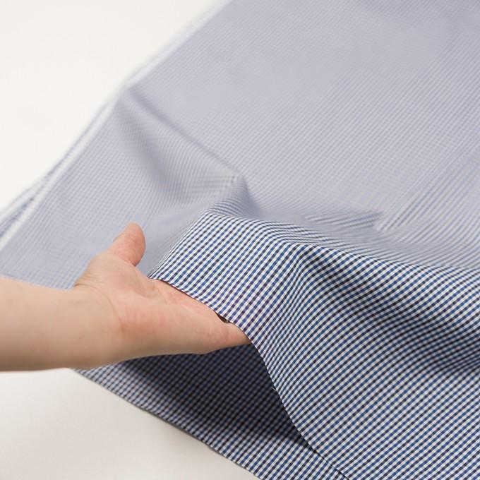 コットン×チェック(ブルー&ネイビー)×オックスフォード_全3色 イメージ5