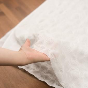 コットン×サークル(オフホワイト)×ボイル刺繍 サムネイル5