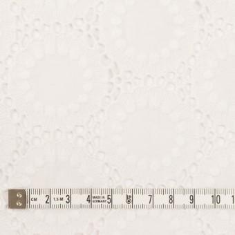 コットン×フラワー(オフホワイト)×ローン刺繍 サムネイル4