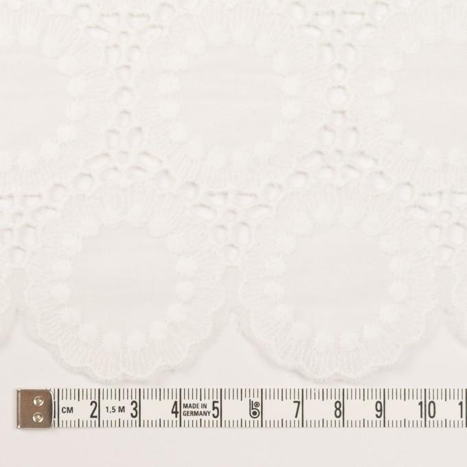 コットン×フラワー(オフホワイト)×ローン刺繍 イメージ6