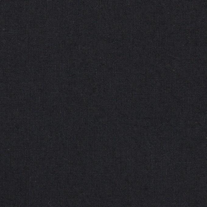 コットン×無地(ダークネイビー)×高密ポプリン イメージ1