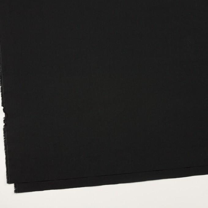 コットン×無地(ブラック)×高密ローン イメージ2