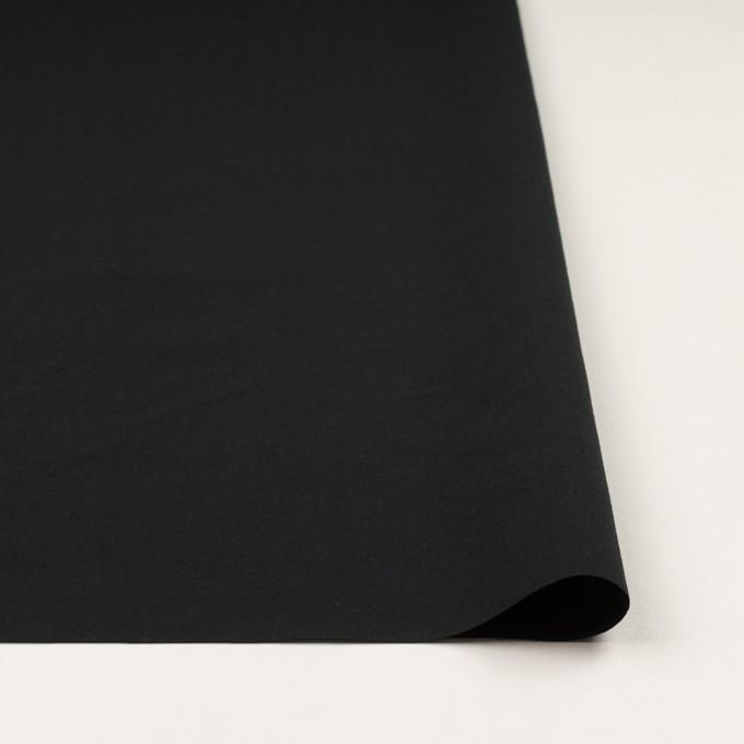 コットン×無地(ブラック)×高密ローン イメージ3