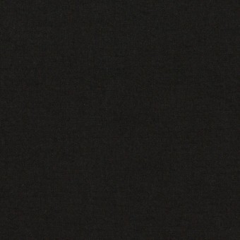 コットン×無地(ブラック)×高密ローン